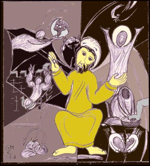 Versuchung Jesu in der Wüste