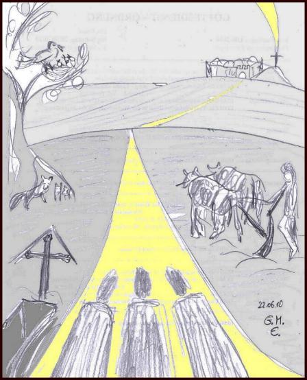 Mit Jesus auf dem Weg (c) G. M. Ehlert, 22.06.2010