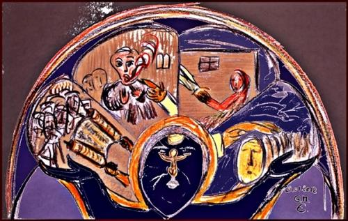 Jesus lehrt + befreit + heilt + betet + zieht weiter (Mk 1,21-39)