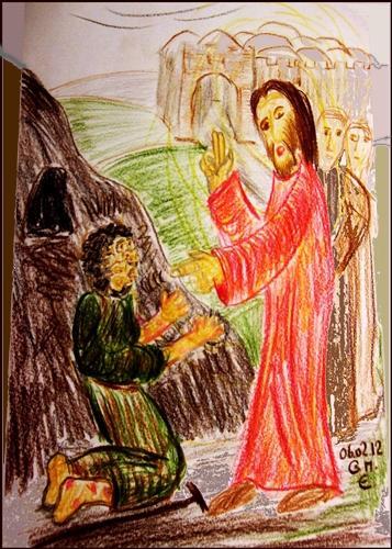 Ein Aussätziger kam zu Jesus...