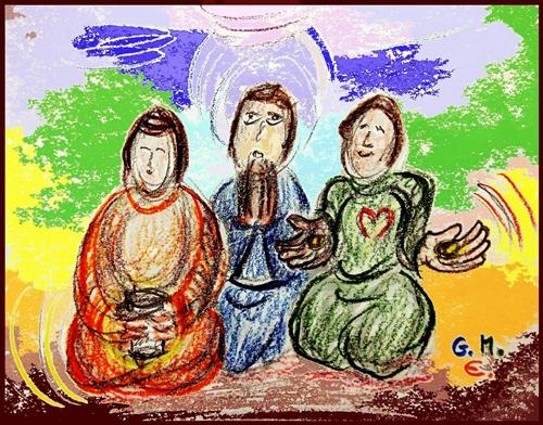 fasten + beten + freudig geben (c) G. M. Ehlert