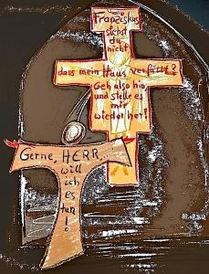 sprechendes Kreuz-ab