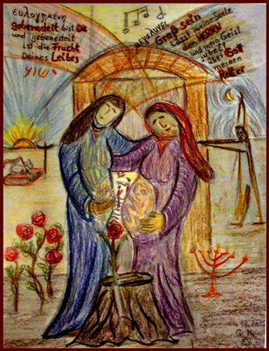 Visitation: Maria bei Elisabet