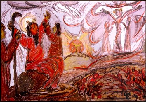 Gebet des Mose - Israels Sieg über die Amalekiter