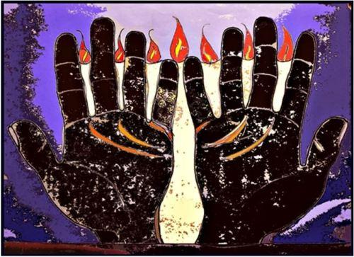 Zehn-Gebote-Finger