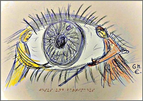 Jesus heilt den blinden Bartimäus