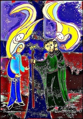 Maria u. Josef - Hörer und Täter des Wortes Gottes